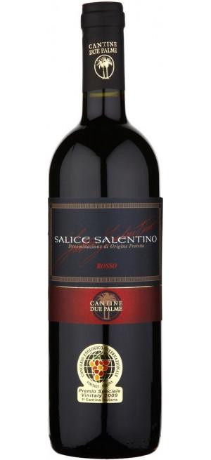 Вино Due Palme, Salice Salentino DOC, 2015, 0.75 л