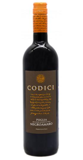 "Вино ""Codici"" Negroamaro, Puglia IGT"