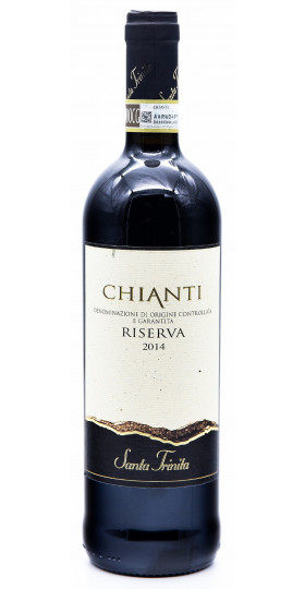 """Вино Chiantigiane, """"Santa Trinita"""" Chianti Riserva DOCG"""