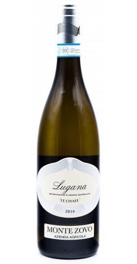 "Вино Monte Zovo, Lugana ""Le Civaie"" DOC, 2016"