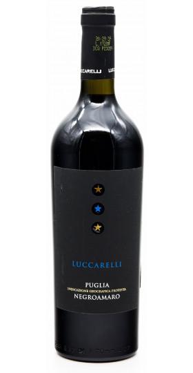 "Вино ""Luccarelli"" Negroamaro, Puglia IGP, 2018, 0.75 л"