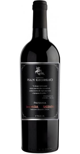 "Вино Cantine San Giorgio, ""Pausania"" Malvasia Nera, Salento IGP, 2015"