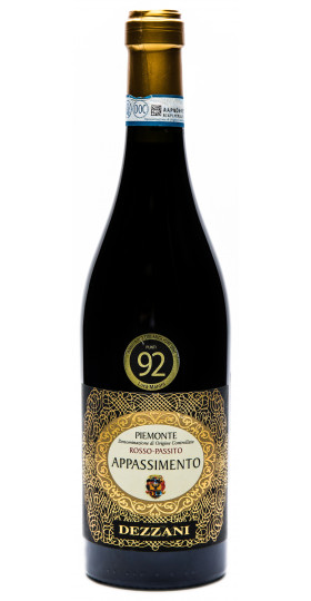 """Вино Dezzani, """"Appassimento"""", Rosso Passito, 0.75 л"""