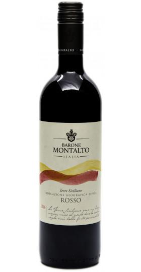 Вино Barone Montalto, Rosso, Terre Siciliane IGT, 0.75 л