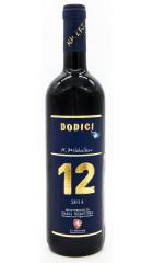 """Вино La Madonna, """"12"""" Dodici, Monteregio di Massa Marittima DOC, 2014"""