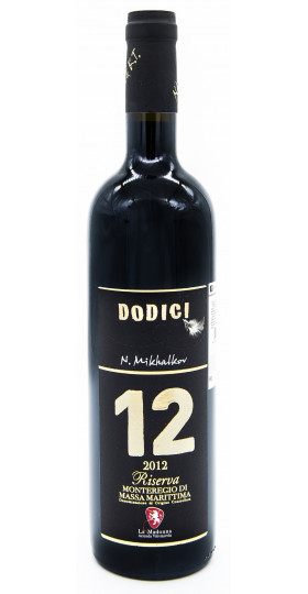 """Вино La Madonna, """"12"""" Dodici Riserva, Monteregio di Massa Marittima DOC, 2012"""
