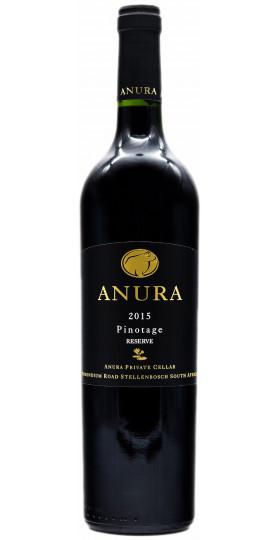 Вино Anura, Pinotage Reserve, 2015