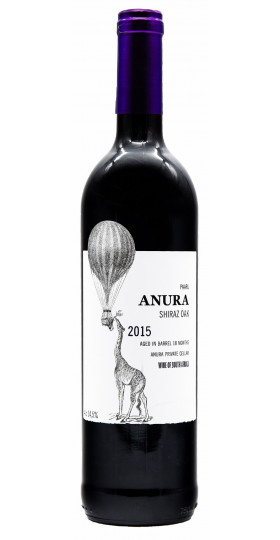Вино Anura, Shiraz Oak, 2015