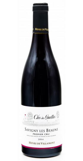 "Вино Henri de Villamont, Savigny-les-Beaune 1-er Cru ""Clos des Guettes"" AOC, 2014"