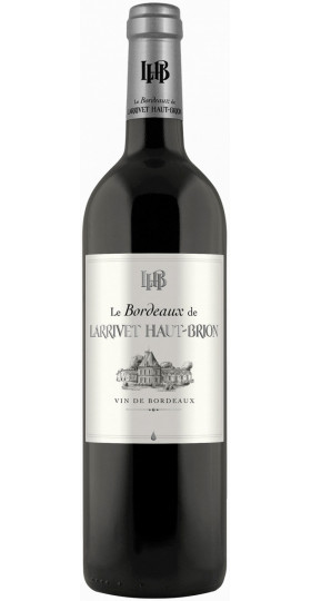 "Вино ""Le Bordeaux de Larrivet Haut-Brion"" Rouge, Bordeaux AOP"