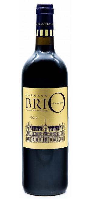 """Вино """"BriO"""" de Cantenac Brown, Margaux AOC, 2012"""