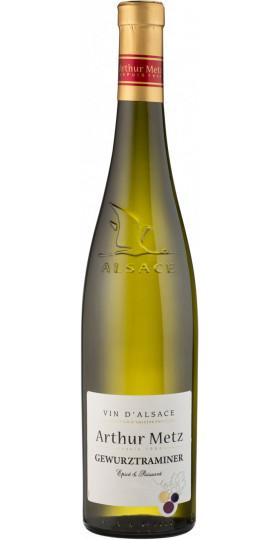"Вино Arthur Metz, ""Vin d'Alsace"" Gewurztraminer AOP, 2015, 0.75 л"