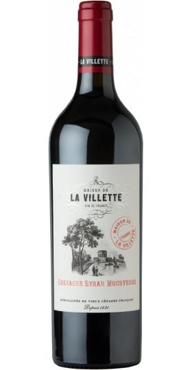 """Вино """"Maison de la Villette"""" Grenache Syrah Mourvedre, 0.75 л"""