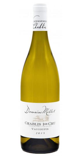 """Вино Domaine Millet, Chablis 1er Cru """"Vaucoupin"""" AOC, 2018, 0.75 л"""