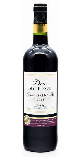 "Вино Val d'Orbieu-Uccoar, ""Duo Mythique"" Syrah-Grenache, Pays d'Oc IGP, 2012"