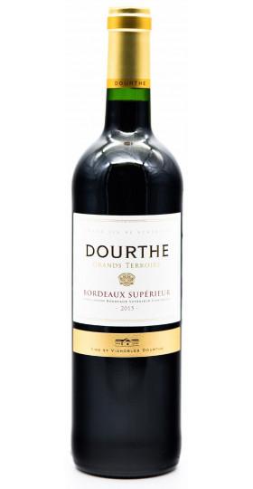 """Вино Dourthe, """"Grands Terroirs"""" Bordeaux Superieur, 2015"""