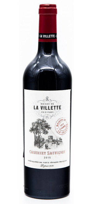 """Вино """"Maison de la Villette"""" Cabernet Sauvignon, 0.75 л"""