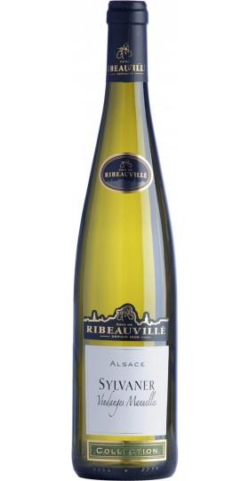 """Вино Cave de Ribeauville, Sylvaner """"Vendanges Manuelles"""", Alsace AOC, 2017, 0.75 л"""