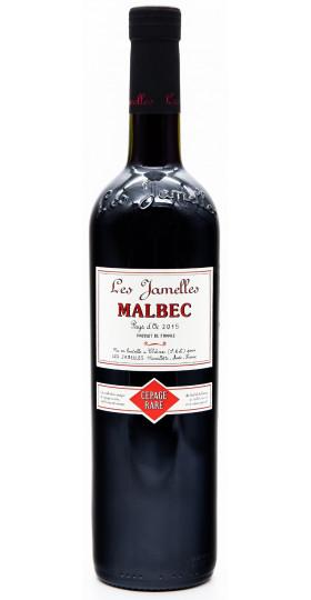 """Вино Les Jamelles, """"Cepage Rare"""" Malbec, Pays d'Oc IGP, 2015"""
