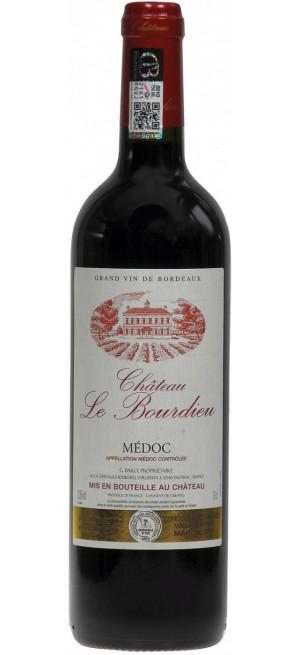 Вино Chateau Le Bourdieu, Cru Bourgeois Medoc AOC, 2014, 0.75 л