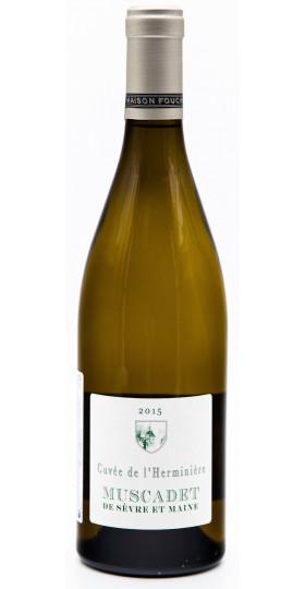 """Вино Maison Foucher, """"Cuvee de l'Herminiere"""", Muscadet Sevre et Maine AOC, 2015"""
