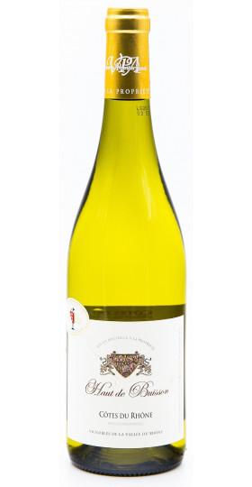 """Вино """"Haut de Buisson"""" Blanc, Cotes du Rhone AOP, 2015"""