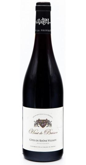 """Вино """"Haut de Buisson"""" Rouge, Cotes du Rhone Villages AOP, 2013"""