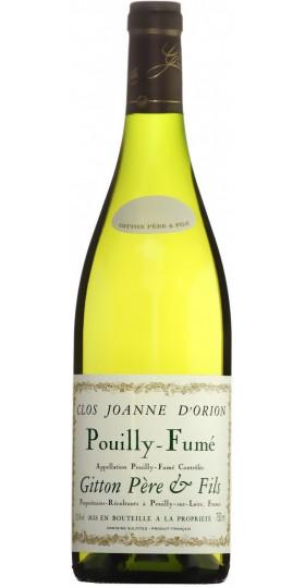"Вино Gitton Pere & Fils, ""Clos Joanne d'Orion"", Pouilly-Fume AOC, 0.75 л"