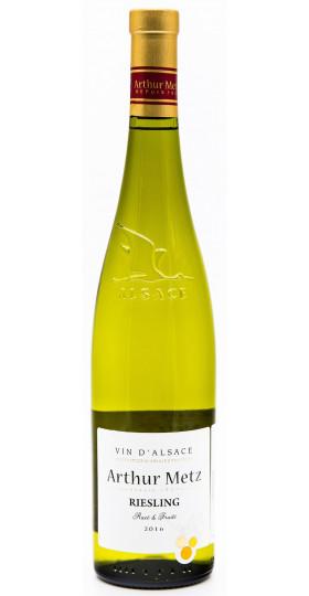"Вино Arthur Metz, ""Vin d'Alsace"" Riesling AOP"