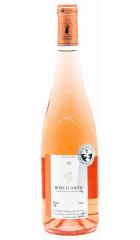 Вино Domaine Moncourt, Rose d'Anjou AOC, 2017, 0.75 л