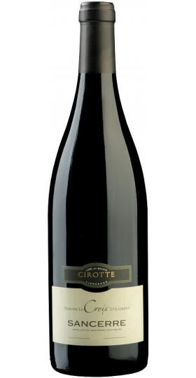 """Вино Cirotte, """"Domaine La Croix St-Laurent"""" Rouge, Sancerre AOC, 2014, 0.75 л"""