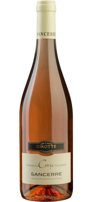 """Вино Cirotte, """"Domaine La Croix St-Laurent"""" Rose, Sancerre AOC, 2018, 0.75 л"""