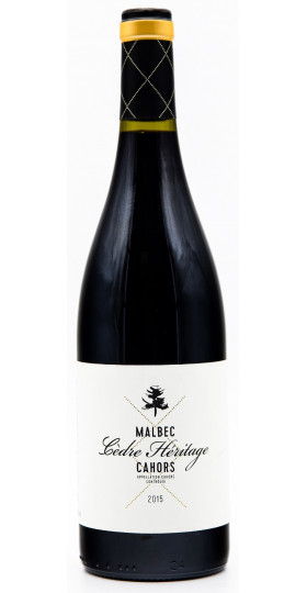 "Вино ""Cedre Heritage"" Malbec, Cahors AOC, 2015"