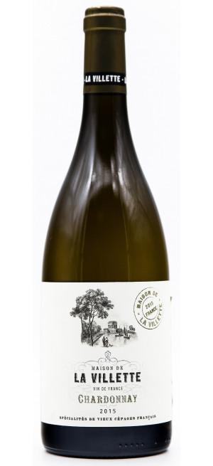 """Вино """"Maison de la Villette"""" Chardonnay"""