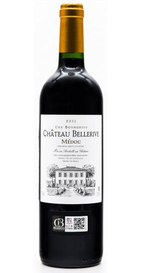 Вино Chateau Bellerive, Medoc, 2012, 0.75 л