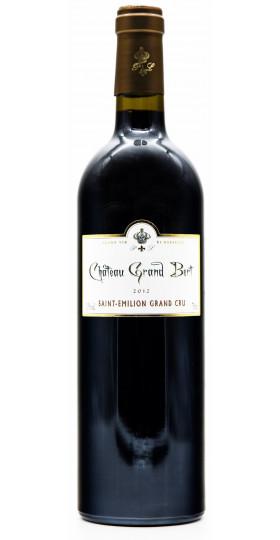 Вино Chateau Grand Bert, Saint-Emilion AOC, 2012
