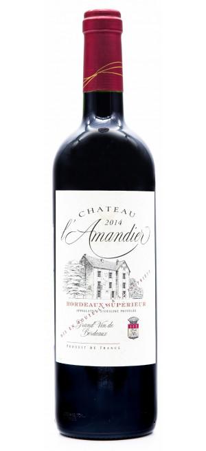 Вино Chateau L'Amandier Bordeaux Superieur, 2014