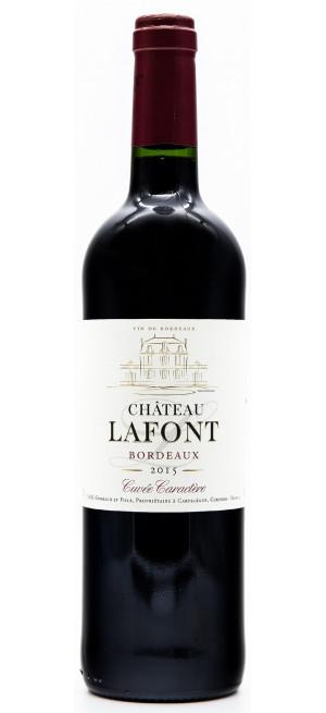 Вино Chateau Lafont, Cuvee Caractere Bordeaux, 2015