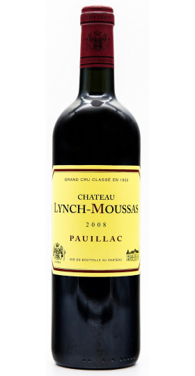 Вино Chateau Lynch-Moussas, Grand Cru Classe Pauillac AOC, 2008