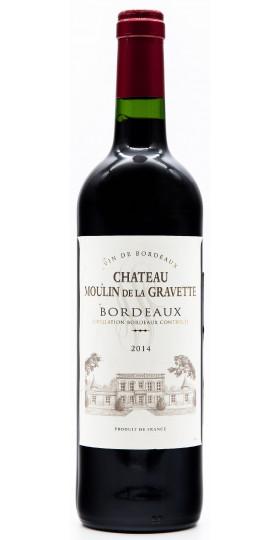 Вино Cheteau Moulin de La Gravette, Bordeaux, 2014