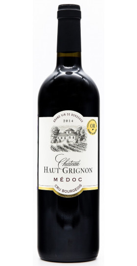 Вино Chateau Haut-Grignon, Cru Bourgeois, 2014