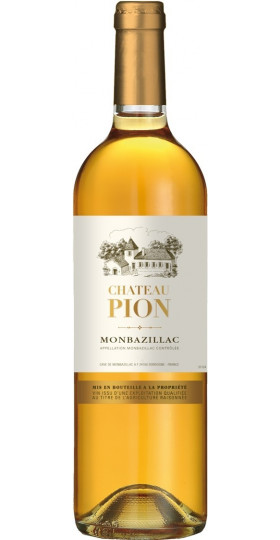 Вино Chateau Pion, Monbazillac AOC, 2014, 0.75 л
