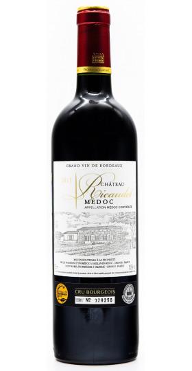 Вино Chateau Ricaudet, Medoc AOC, 2011