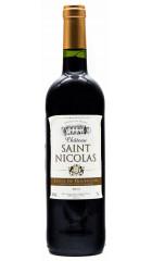 Вино Chateau Saint Nicolas, Cotes du Roussillon AOC, 2012