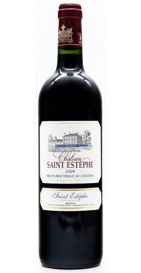 Вино Chateau Saint-Estephe, Cru Bourgeois AOC, 2013, 0.75 л