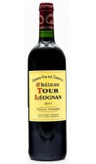 """Вино """"Chateau Tour Leognan"""" Rouge, Pessac-Leognan AOC, 2011"""