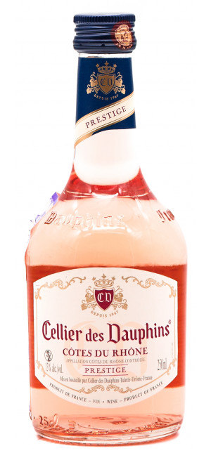 "Вино Cellier des Dauphins, ""Prestige"" Rose, Cotes du Rhone AOC, 250 мл"