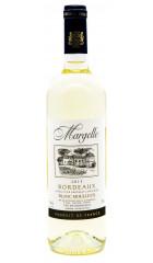 "Вино La Guyennoise, ""Margelle"" Bordeaux AOC Blanc Moelleux. 0,75 л"