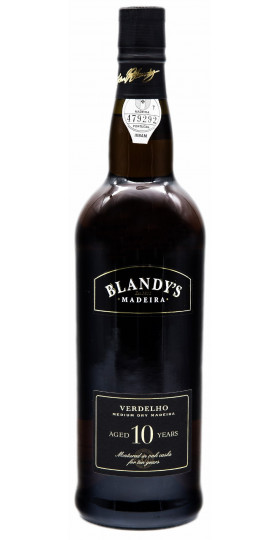"Вино Blandy's, ""Verdelho"" Medium Dry 10 Years Old"