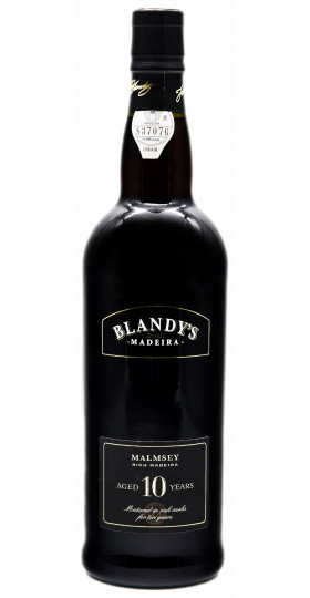 "Вино Blandy's, ""Malmsey"" Rich 10 Years Old"